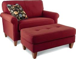 ottomans red leather chair ottoman lounge accent with red chair