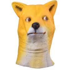 horse mask spirit halloween plush emoji emoticon mascot full head smiley fancy dress