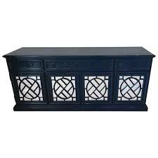chinese chippendale fretwork credenza sideboard buffet newly