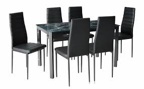 Faux Marble Top Dining Table Black Marble Top Dining Table Set For A New Dining Room Look