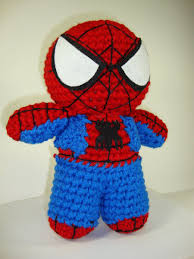 spider crochet patterns free arjeloops spiderman crochet doll by