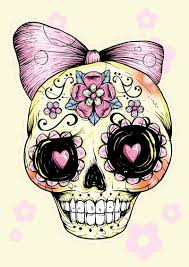 sugar skull clipart baby pencil and in color sugar skull clipart