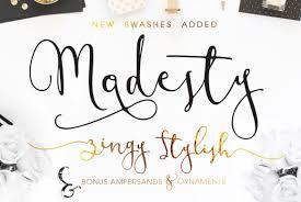 calligraphy font modesty font freebie modern calligraphy script on behance