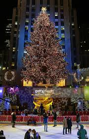 nbc rockefeller center christmas tree lighting photos and images