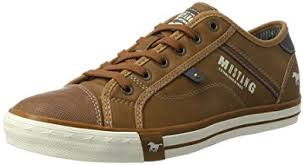 mustang shoes mustang shoes 4072 302 307 mens casual trainers amazon co