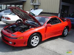 dodge stealth red 1992 monza red mitsubishi 3000gt sl coupe 34447348 gtcarlot com