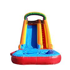 rainbow bouncer jumper bounce house castle castle house water