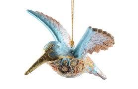 christmas ornament hummingbird christmas decorations alandeko