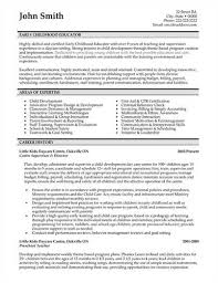 early childhood teacher resumes the objective statement for an early childhood teacher resume
