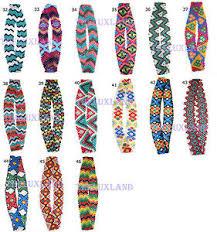 headband elastic american aztec indian style beaded headband elastic western