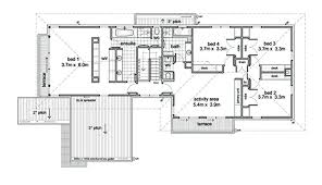 House Layout Design Principles Modern Style House Plan 5 Beds 2 50 Baths 3882 Sq Ft Plan 496 1