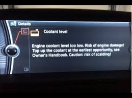 coolant warning light bmw how to add anti freeze low coolant level warning bmw youtube