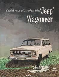 kaiser jeep wagoneer kaiser 1965 wagoneer jeep sales brochure