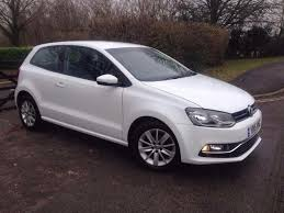 vauxhall volkswagen 2015 volkswagen polo white 3 door 1 2 cat c 20 000 miles on the