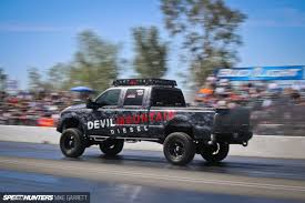 Ford Diesel Drag Truck - a new way of speedhunting speedhunters