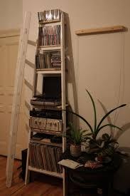 Ladder Shelving Unit Best 25 Old Ladder Shelf Ideas On Pinterest Ladders Old Wooden
