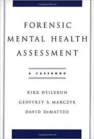 forensic mental health assessment a casebook 9780195145687mental