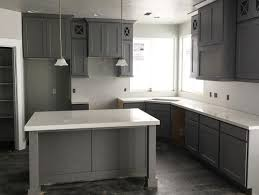 Stain Kitchen Cabinets Darker Beautiful Grey Stained Kitchen Cabinets Including Soup Charlotte