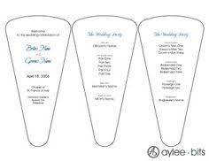 Wedding Program Hand Fans Downloadable Templates For Making Paper Fans Wedding Programs
