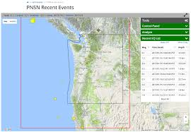Earthquake Map Seattle by Virtual Lab Tour Pacific Northwest Seismic Network