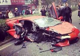 lamborghini aventador crashes lamborghini aventador crashes into in china sssupersports com