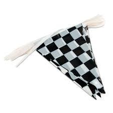 Checkered Flag Ribbon Amazon Com Adorox 100ft Checkered Black And White Flags Racing
