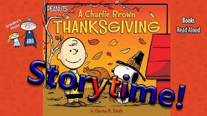 thanksgiving cartoon specials thanksgiving stories a charlie brown thanksgiving read aloud