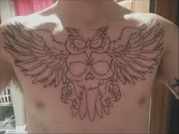 Download Gambar 50 Awesome Owl Tattoos Chest Gambar Co Id Cari