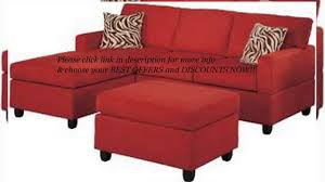 Sectional Sofa And Ottoman Set by Exceeded My Expectations Bobkona Manhattan Reversible Microfiber