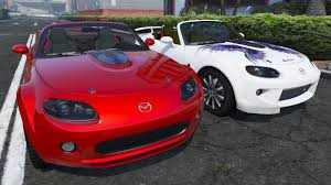 mazda roadster 2007 mazda mx 5 roadster coupe series iii gta5 mods com