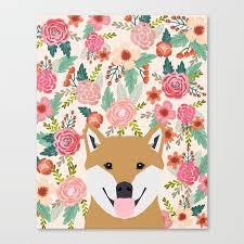 Hipster Dog Meme - shiba inu florals spring summer bright girly hipster dog meme