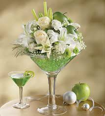 Lighted Centerpiece Ideas by Pinterest And Lighted Centerpieces Using Martini Glasses Apple