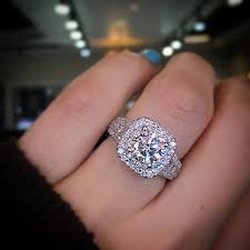 ring engaged gabriel ny halo engagement ring the best of designers