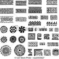 ethnic handmade ornament for your design vector vector
