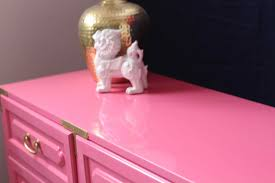 hollywood regency dresser in pink the resplendent crow