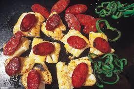 cuisiner plancha poisson et chorizo un mariage réussi plancha la cuisine du