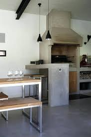 cuisine en beton cuisine exterieure beton cuisine extacrieur beton cire construire