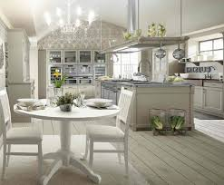 Old Farmhouse Kitchen Cabinets Old Farm House Kitchens Checked Pattern White Black Colors Floor