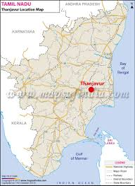 India Map Blank With States by Thanjavur Location Map Where Is Thanjavur