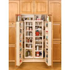 Smart Open Storage With A Custom Ikea Pantry Shop Rev A Shelf 57 In Wood Swing Out Pantry Kit At Lowes Com