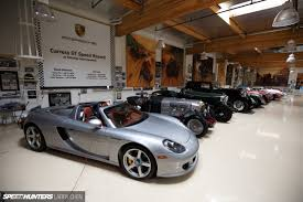 porsche home garage the ultimate hobby shop jay leno u0027s garage speedhunters