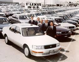 does toyota service lexus company history corporate