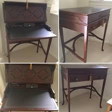 Cherry Wood Desk Emmy U0027s Junk N Stuff Secretary Desk