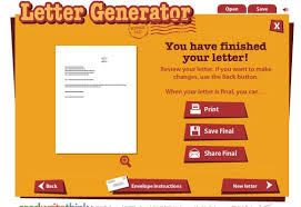 letter generator free business template