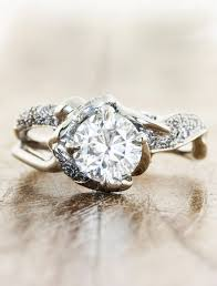 tree branch engagement ring nature inspired engagement rings ken design