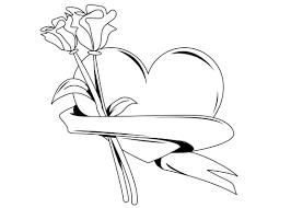 imagenes para colorear rosas dibujos para colorear de rosas dibujoswiki com