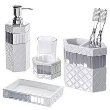 Modern Bathroom Soap Dispenser by Real Essence Of Beautiful Bathroom Accessories Set Tcg