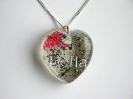 ashes pendant jewellery gallery memorial jewellery ashes and pink flower pendant