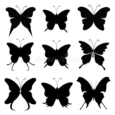butterfly silhouette stock vector illustration of artistic 32899046