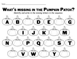 missing letters in the pumpkin patch
